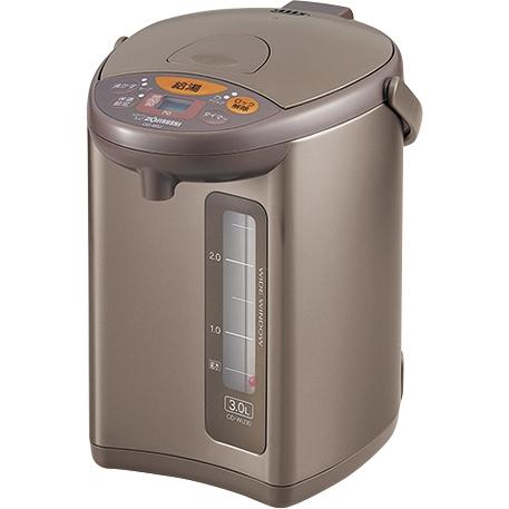 マイコン沸とう電動ポット 3.0L メタリックブラウン デジタル液晶 CD-WU30 TM(FMDI006526)