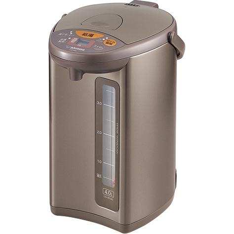 マイコン沸とう電動ポット 4.0L メタリックブラウン デジタル液晶 CD-WU40 TM(FMDI006527)