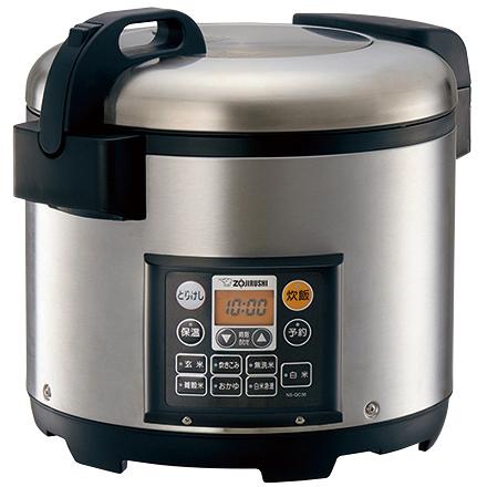 業務用マイコン炊飯ジャー 2升 ステンレス NS-QC36 XA(FMDI006555)