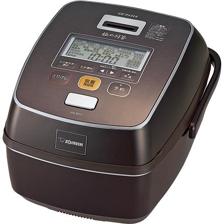 鉄器コート 極め羽釜 圧力IH炊飯ジャー 5.5合 プライムブラウン NW-AA10 TZ(FMDI006556)