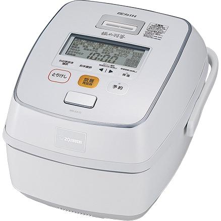 鉄器コート 極め羽釜 圧力IH炊飯ジャー 5.5合 プライムホワイト NW-AA10 WZ(FMDI006557)
