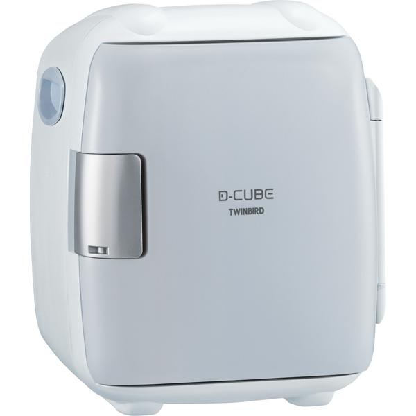 2電源式コンパクト電子保冷保温ボックス D-CUBE S (グレー) HR-DB06GY(FMDI006603)