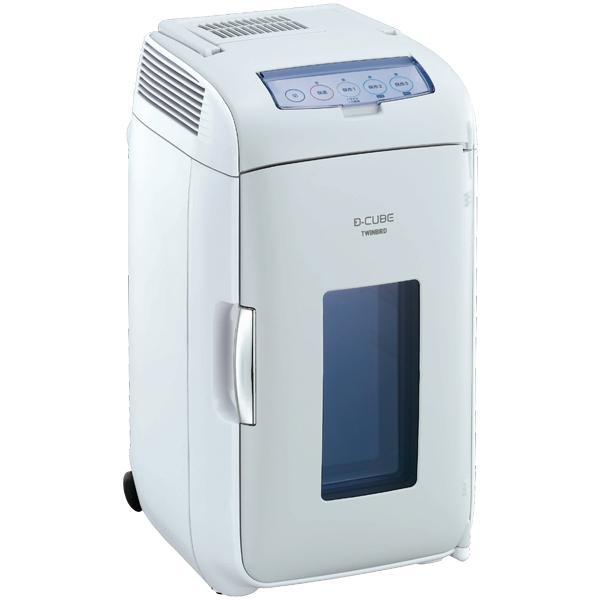 2電源式コンパクト電子保冷保温ボックス D-CUBE L (グレー) HR-DB07GY(FMDI006605)