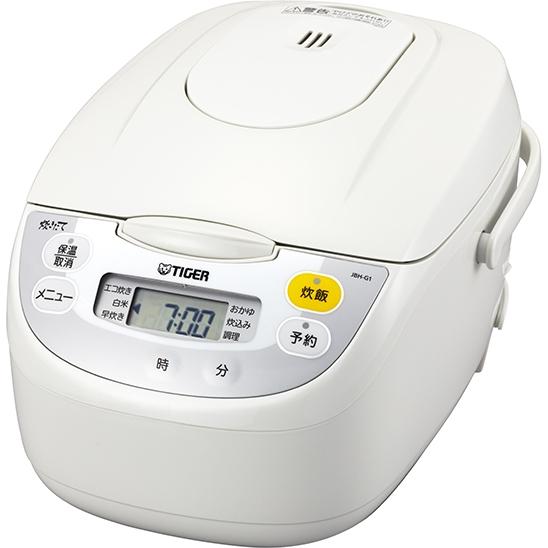 マイコン炊飯ジャー <炊きたて> 5.5合 ホワイト JBH-G101W(FMDI006623)