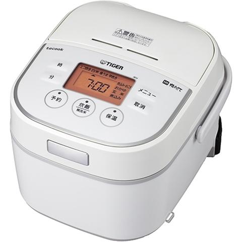 IH炊飯ジャー <炊きたて> tacook 3合炊き ホワイト JKU-A551W(FMDI006626)