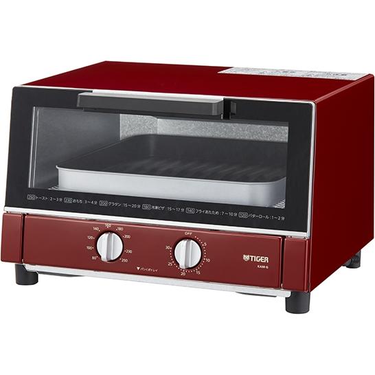 オーブントースター <やきたて> レッド KAM-G130R(FMDI006631)