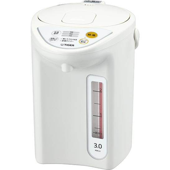 マイコン電動ポット 3.0L ホワイト PDR-G301W(FMDI006646)